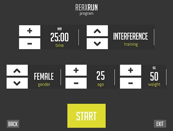 reax-run-app-configuration-screen